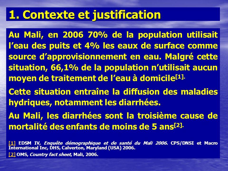 1. Contexte et justification
