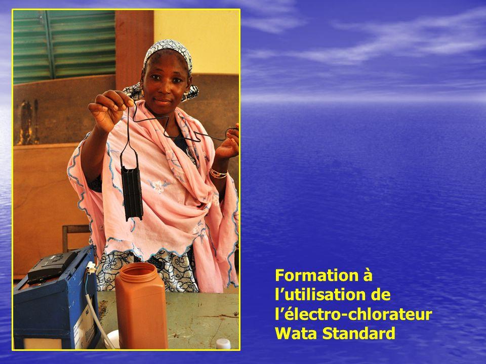 Formation à l'utilisation de l'électro-chlorateur Wata Standard
