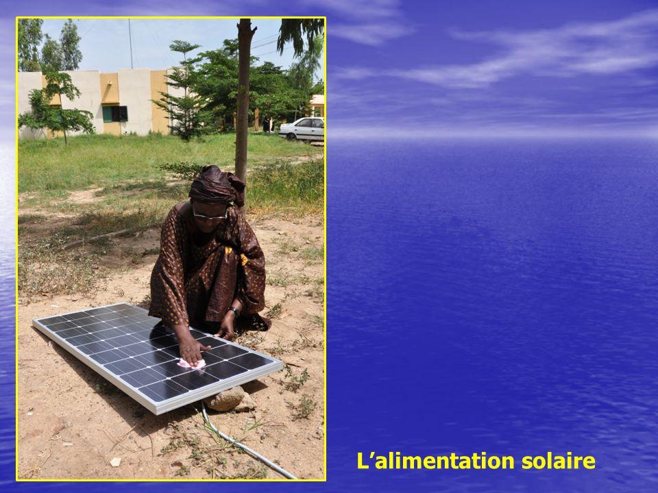 L'alimentation solaire
