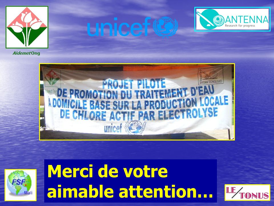 Merci de votre aimable attention…