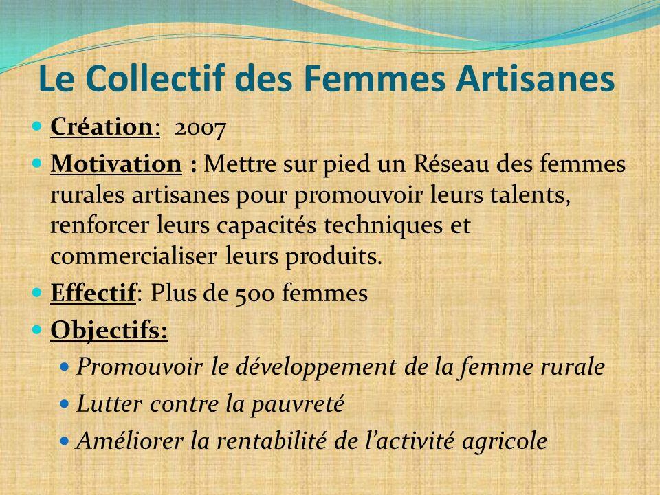 Le Collectif des Femmes Artisanes