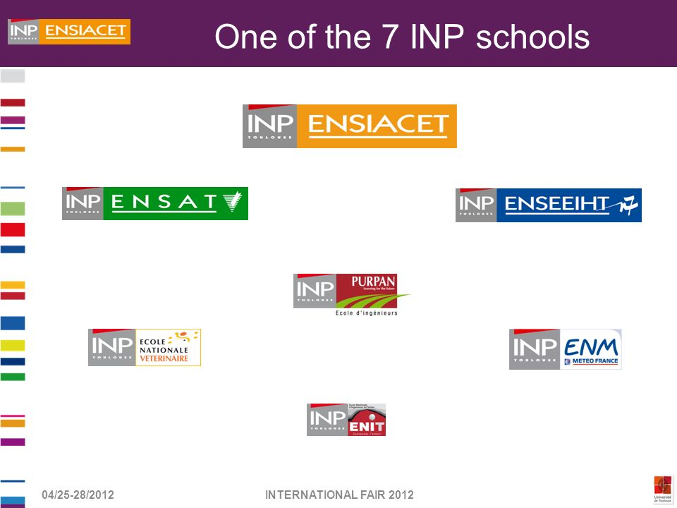 One of the 7 INP schools