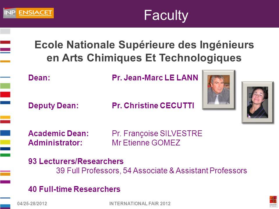 Faculty Ecole Nationale Supérieure des Ingénieurs