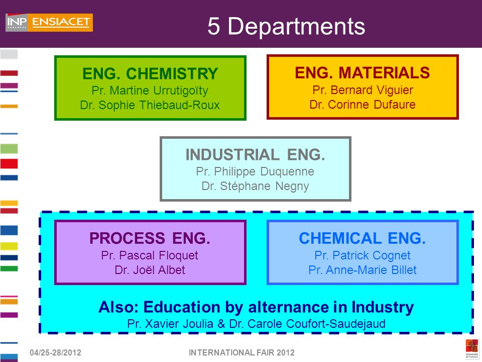 Also: Education by alternance in Industry