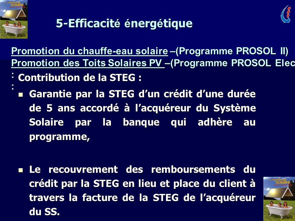 5-Efficacité énergétique