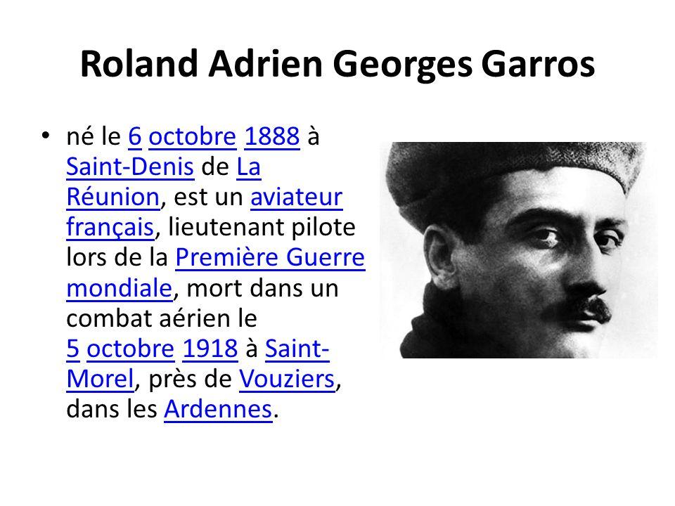 Roland Adrien Georges Garros