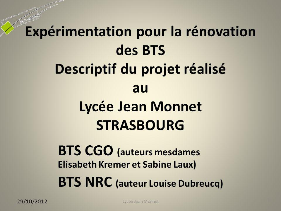 BTS CGO (auteurs mesdames Elisabeth Kremer et Sabine Laux)