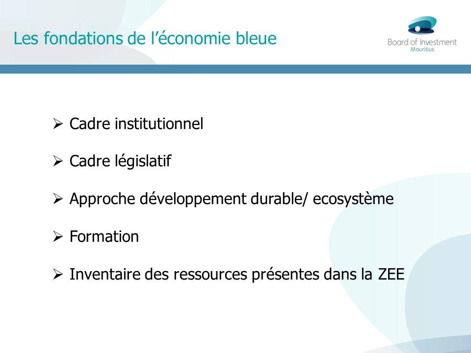 Les fondations de l'économie bleue