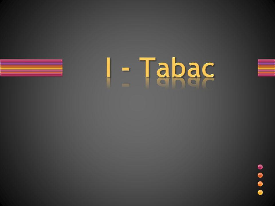 I - Tabac