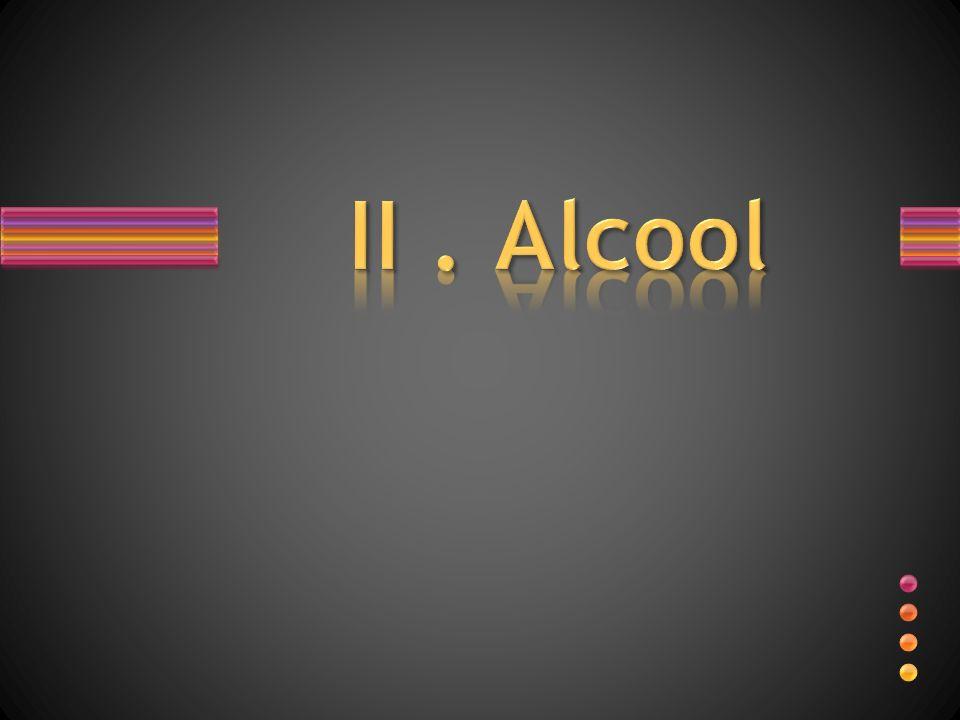 II . Alcool