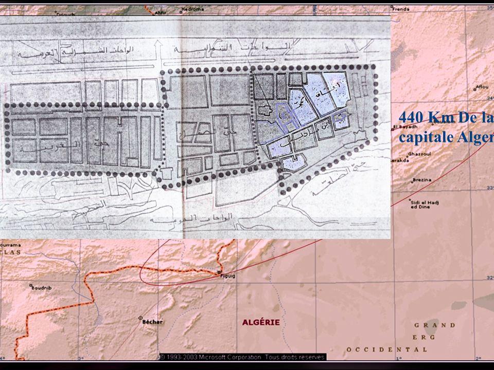 440 Km De la capitale Alger