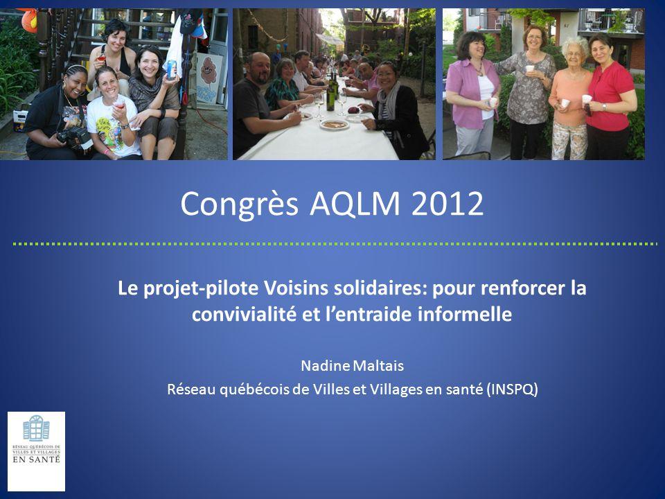 Réseau québécois de Villes et Villages en santé (INSPQ)