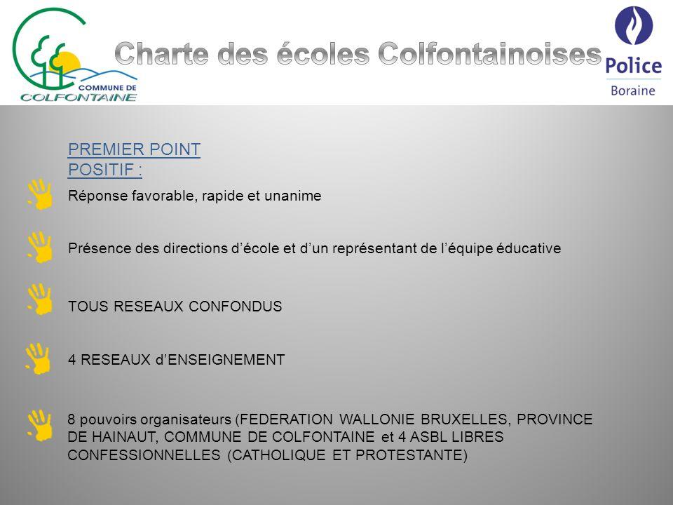 Charte des écoles Colfontainoises