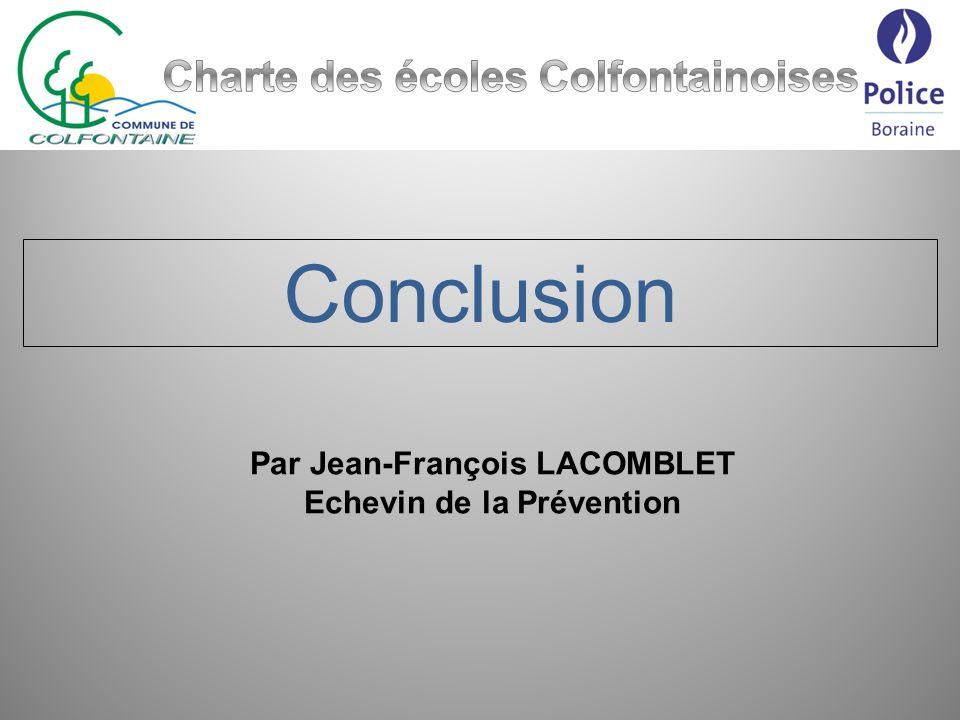 Conclusion Charte des écoles Colfontainoises