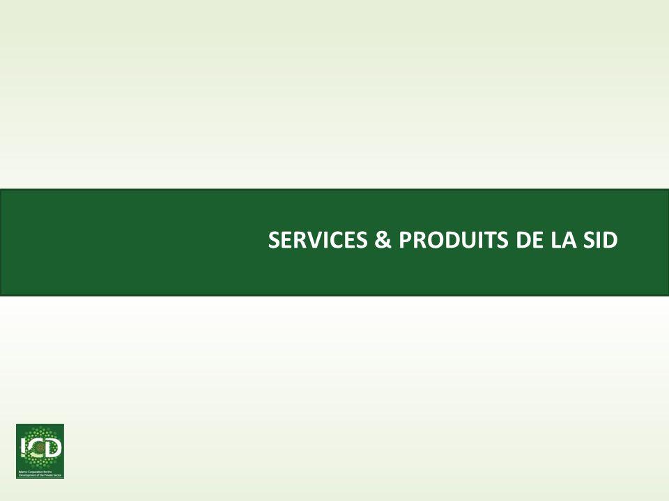 Services & Produits de la SID