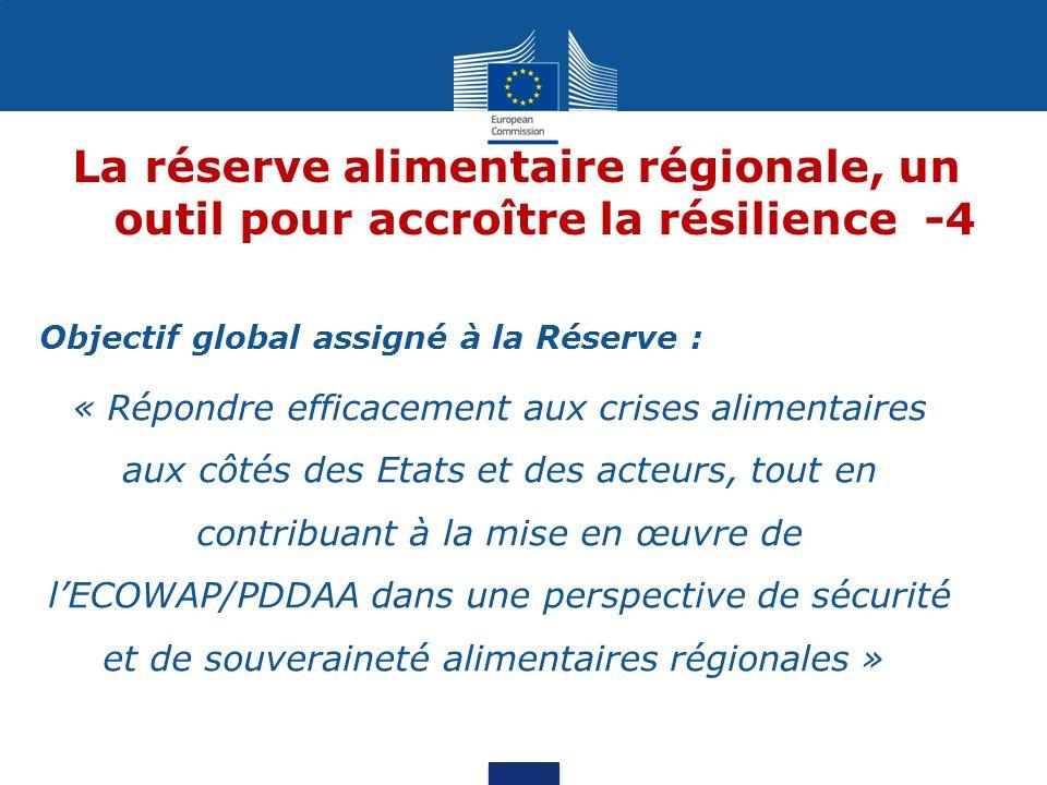 La réserve alimentaire régionale, un outil pour accroître la résilience -4