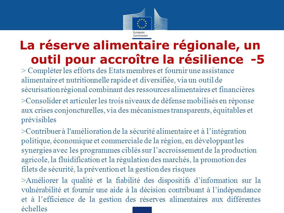 La réserve alimentaire régionale, un outil pour accroître la résilience -5