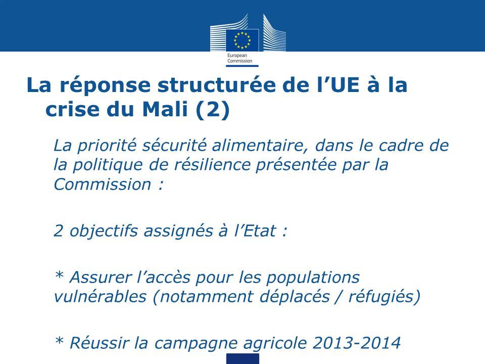 La réponse structurée de l'UE à la crise du Mali (2)