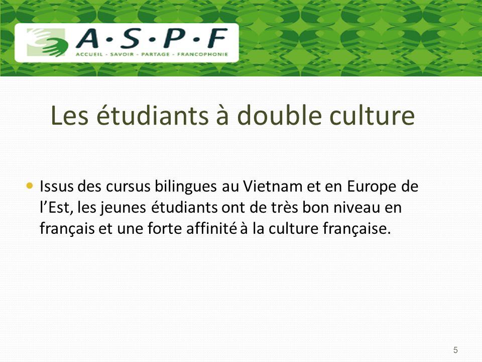 Les étudiants à double culture