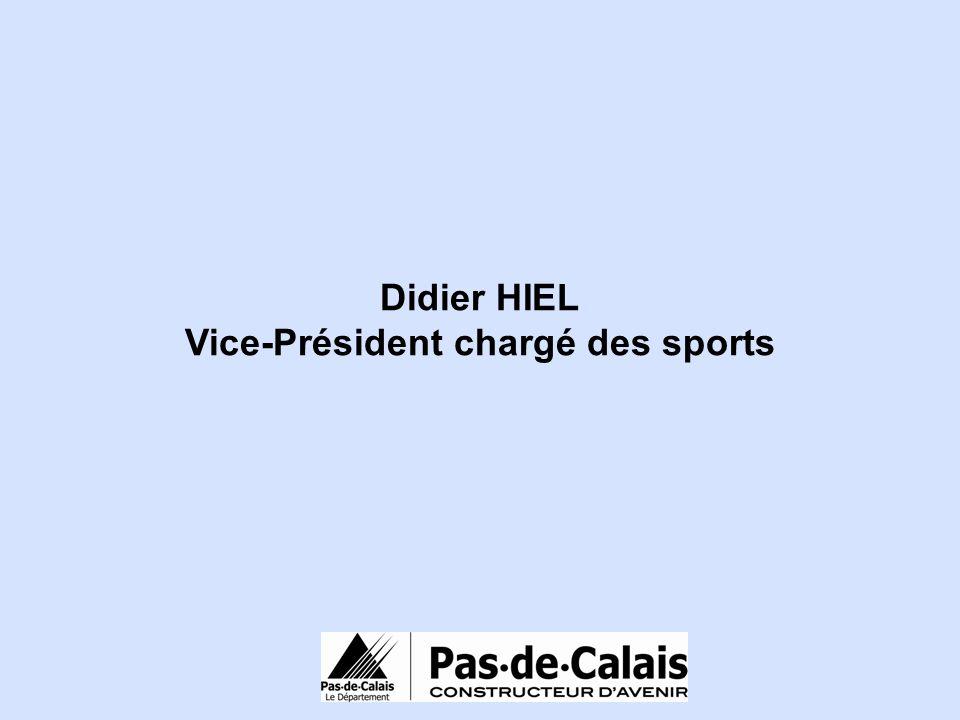 Vice-Président chargé des sports
