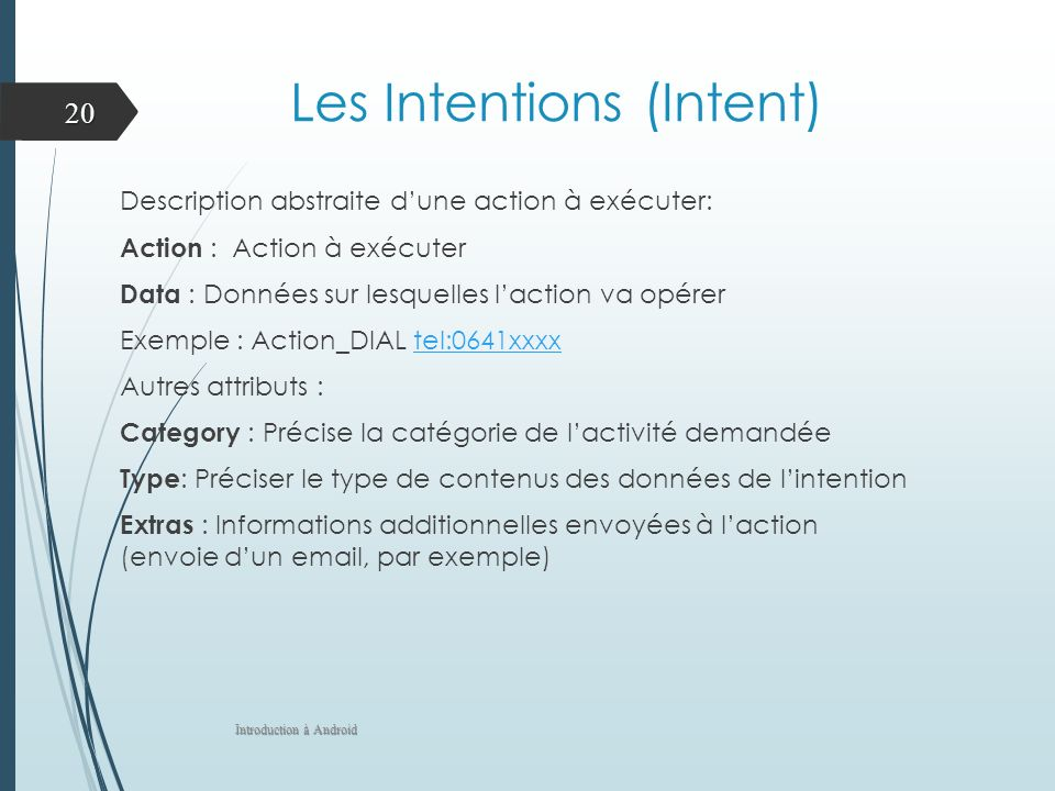 Les Intentions (Intent)