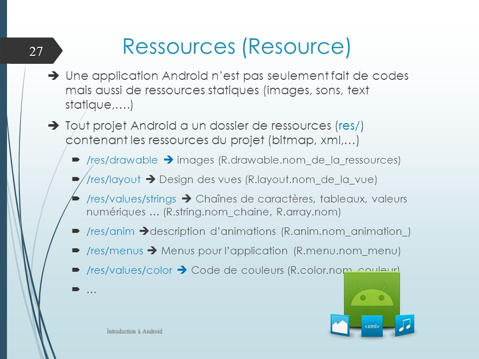 Ressources (Resource)