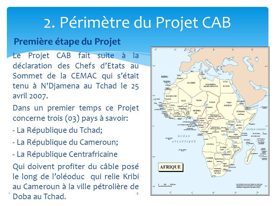1. Présentation de la République Centrafricaine