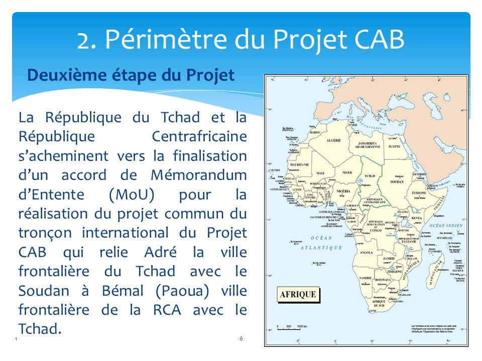 2. Périmètre du Projet CAB