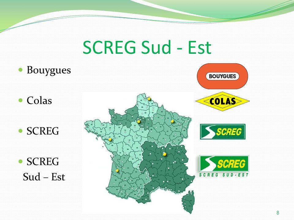 SCREG Sud - Est Bouygues Colas SCREG Sud – Est
