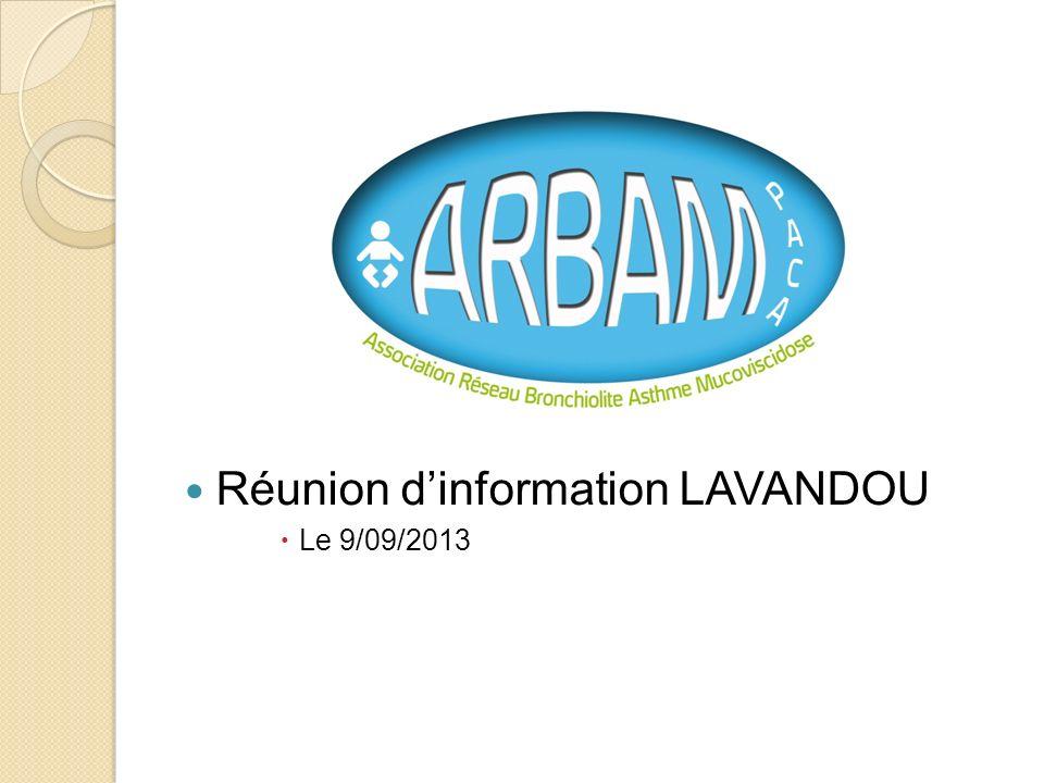 Réunion d'information LAVANDOU