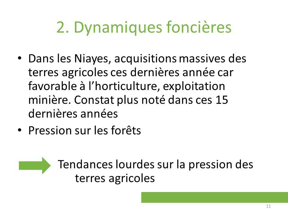 2. Dynamiques foncières