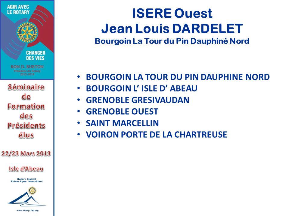 Bourgoin La Tour du Pin Dauphiné Nord