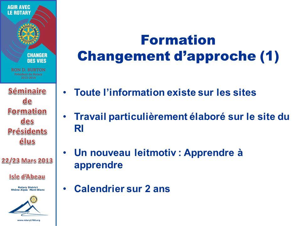 Changement d'approche (1)