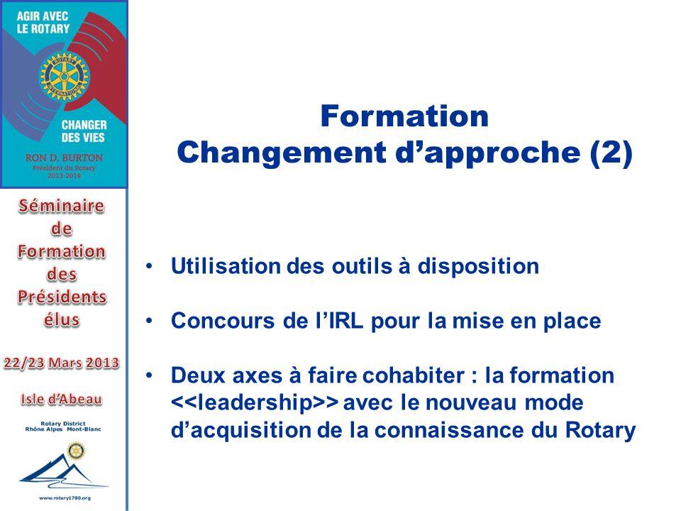 Changement d'approche (2)