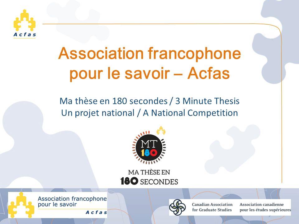 Association francophone pour le savoir ― Acfas