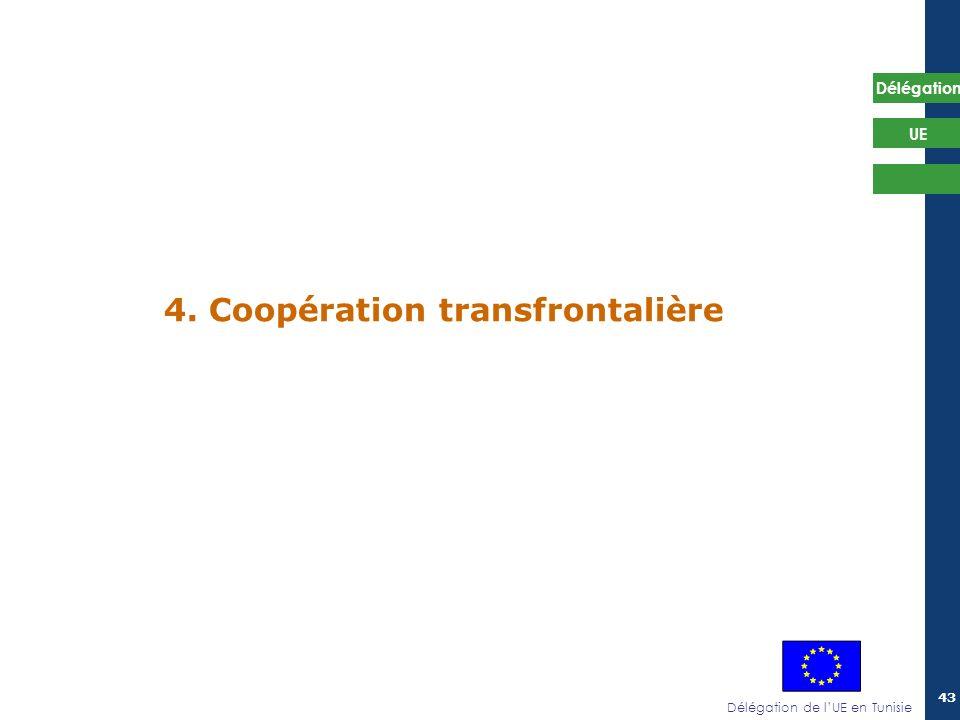 4. Coopération transfrontalière