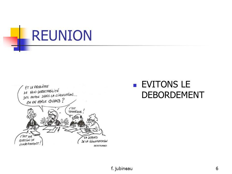 REUNION EVITONS LE DEBORDEMENT f. jubineau