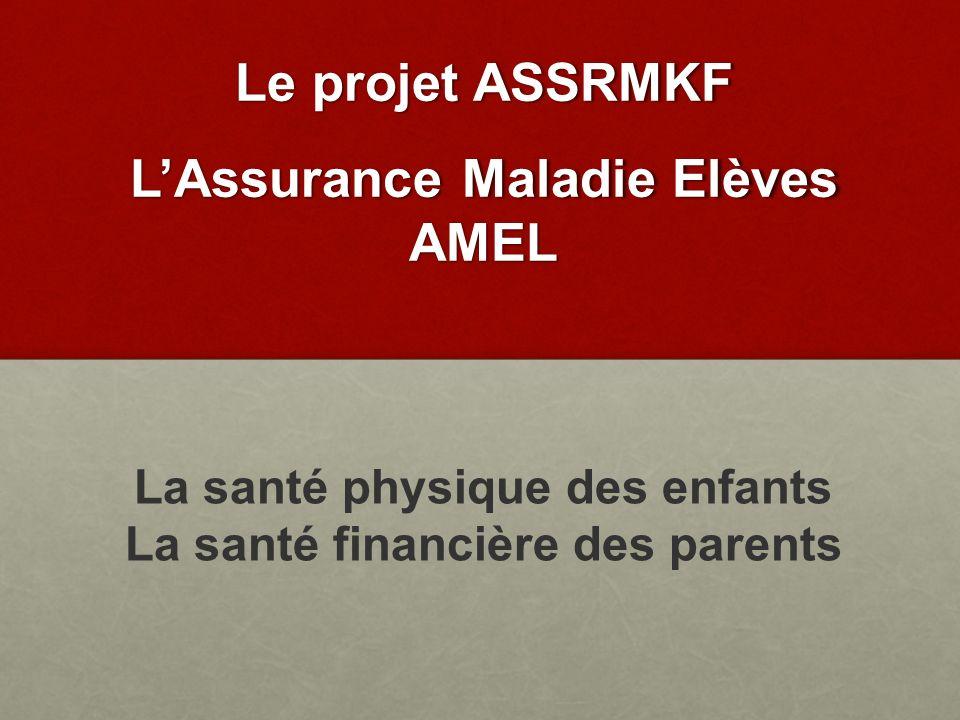 Le projet ASSRMKF AMEL La santé physique des enfants