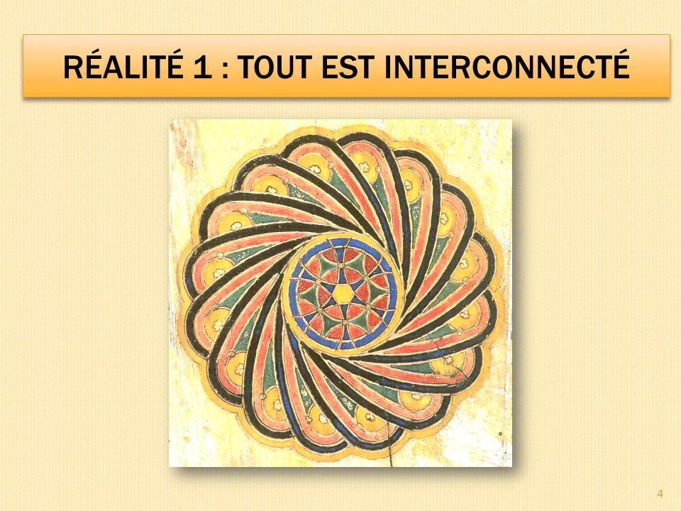 Réalité 1 : tout est interconnecté