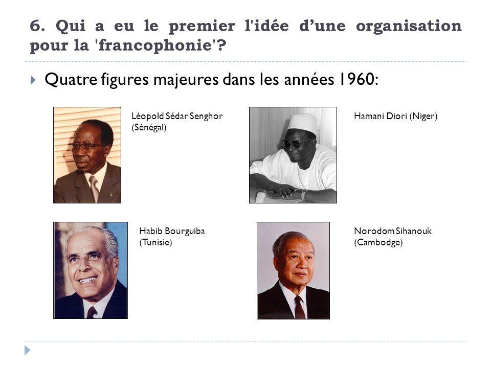 Quatre figures majeures dans les années 1960: