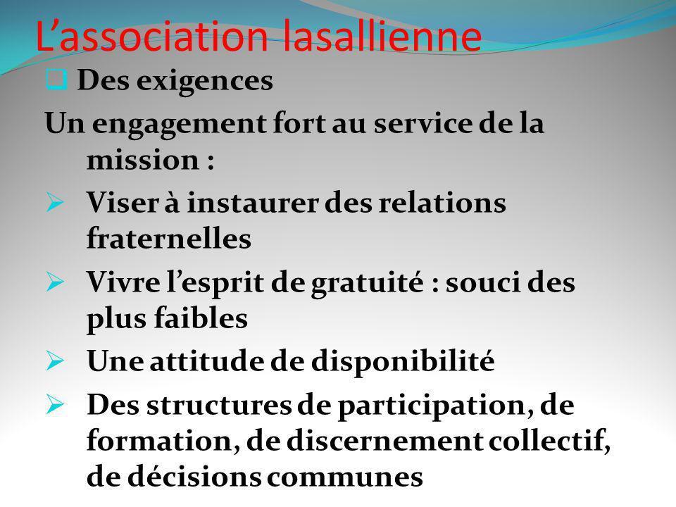L'association lasallienne