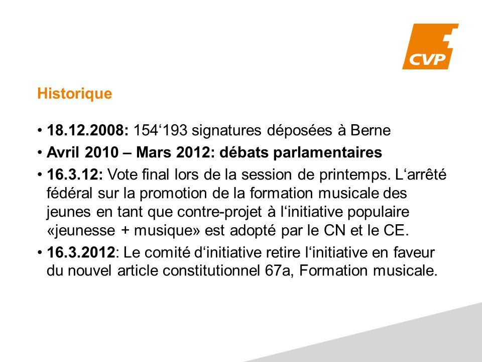 18.12.2008: 154'193 signatures déposées à Berne