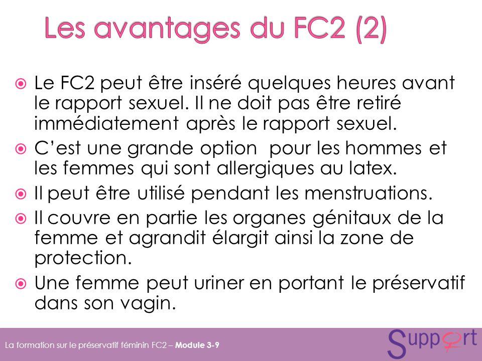 Les avantages du FC2 (2)