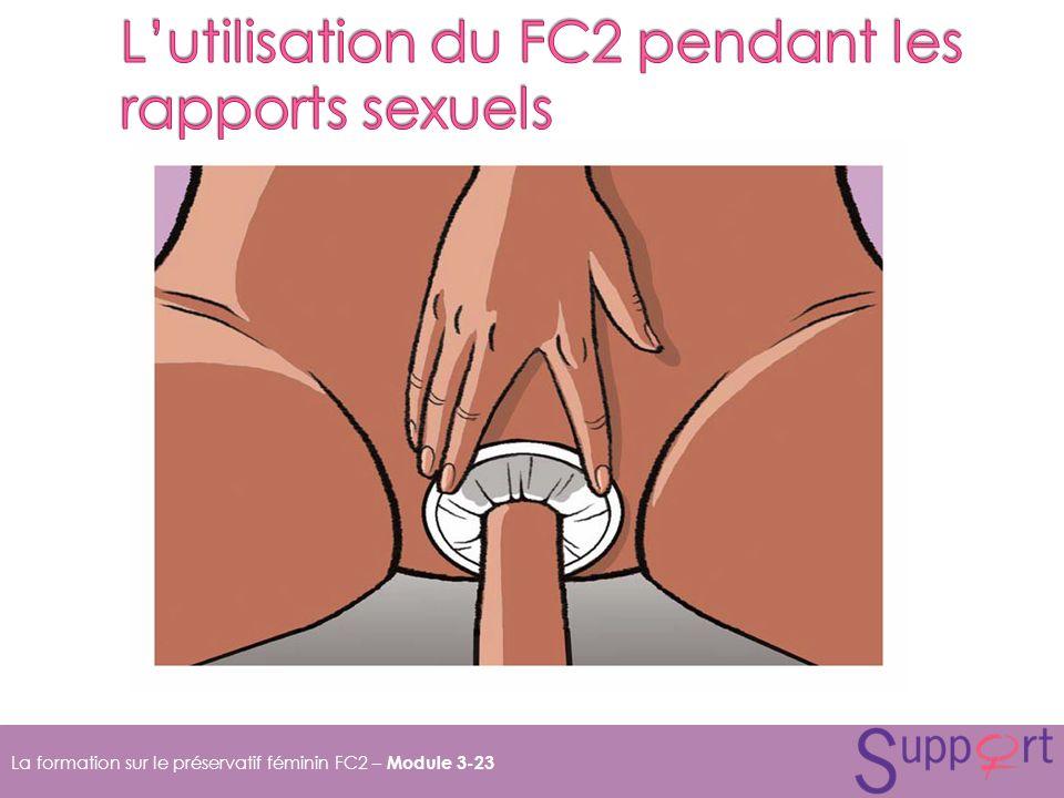 L'utilisation du FC2 pendant les rapports sexuels