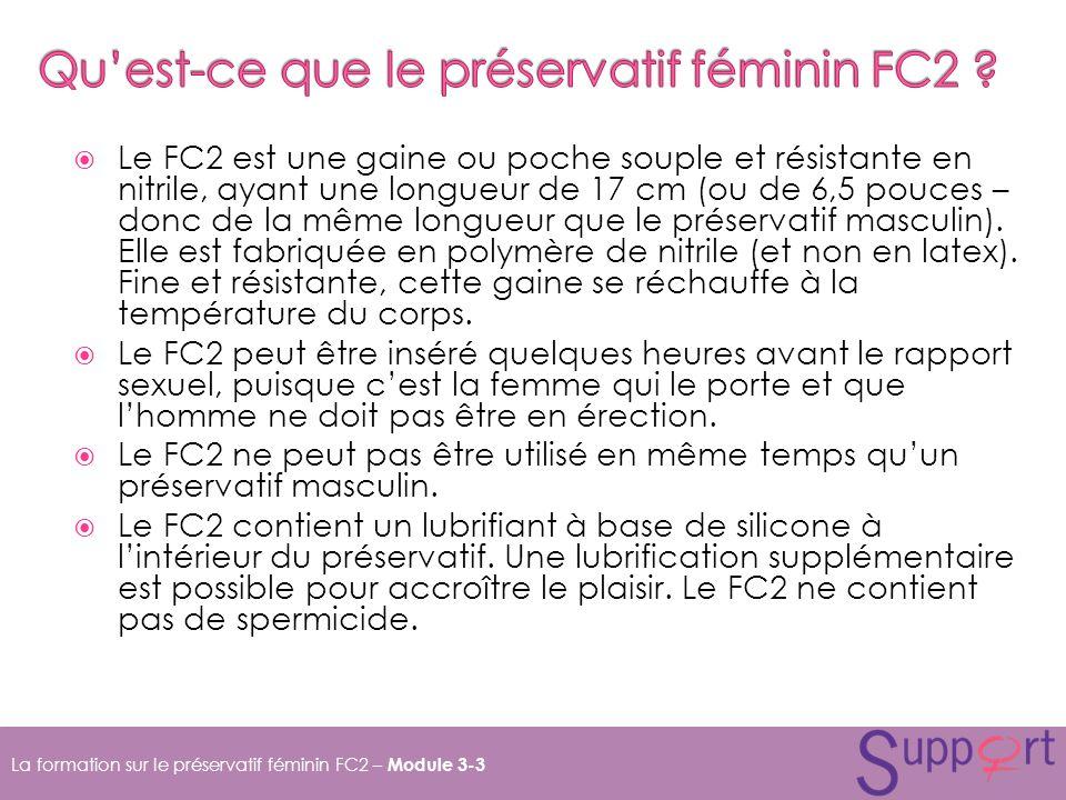 Qu'est-ce que le préservatif féminin FC2