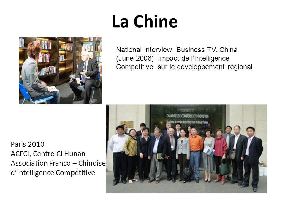 La Chine Paris 2010 ACFCI, Centre CI Hunan
