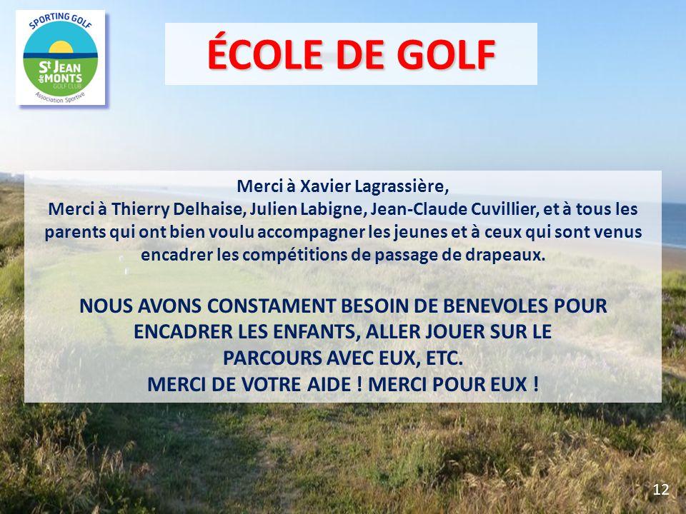 Merci à Xavier Lagrassière, MERCI DE VOTRE AIDE ! MERCI POUR EUX !