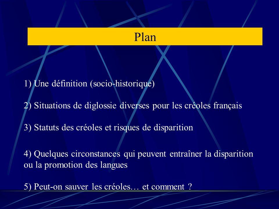 Plan 1) Une définition (socio-historique)