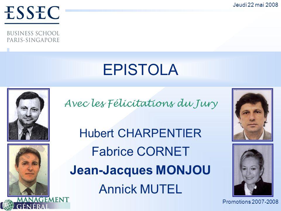Avec les Félicitations du Jury