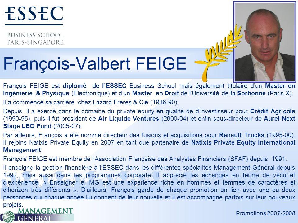 François-Valbert FEIGE